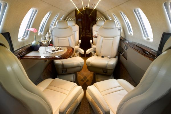 Citation CJ4 captain seats