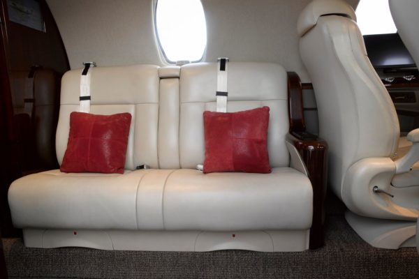 Citation CJ4 couch
