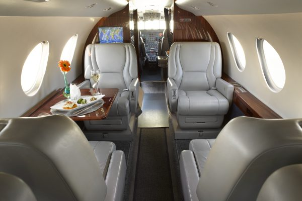 PRIVAIRA F50 N752JC interior seats