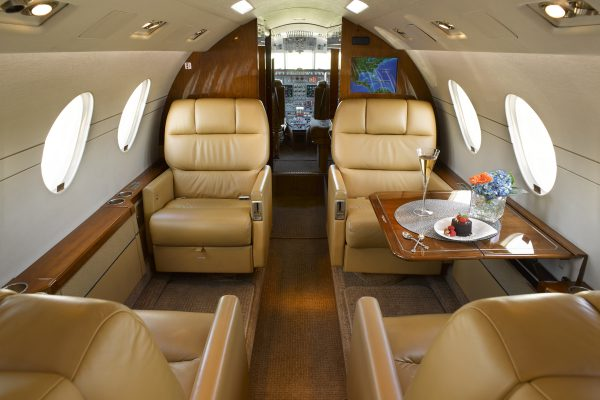 PRIVAIRA FALCON50 N56LN interior seats