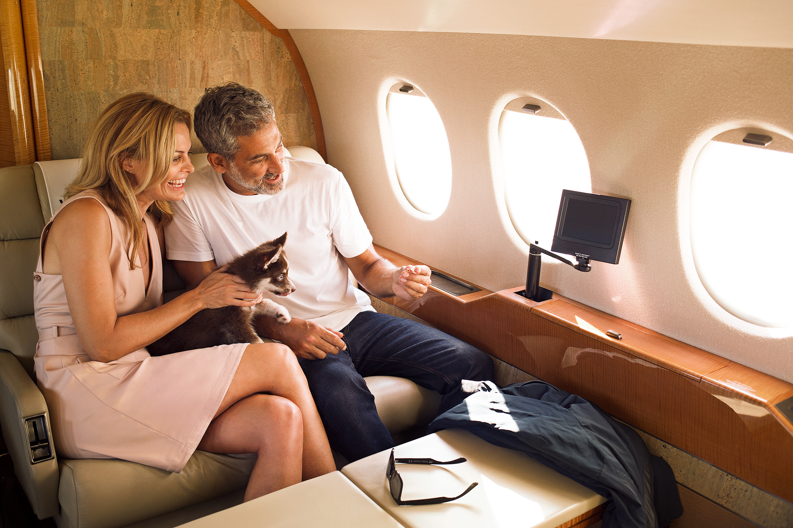 PRIVAIRA charter relax onboard