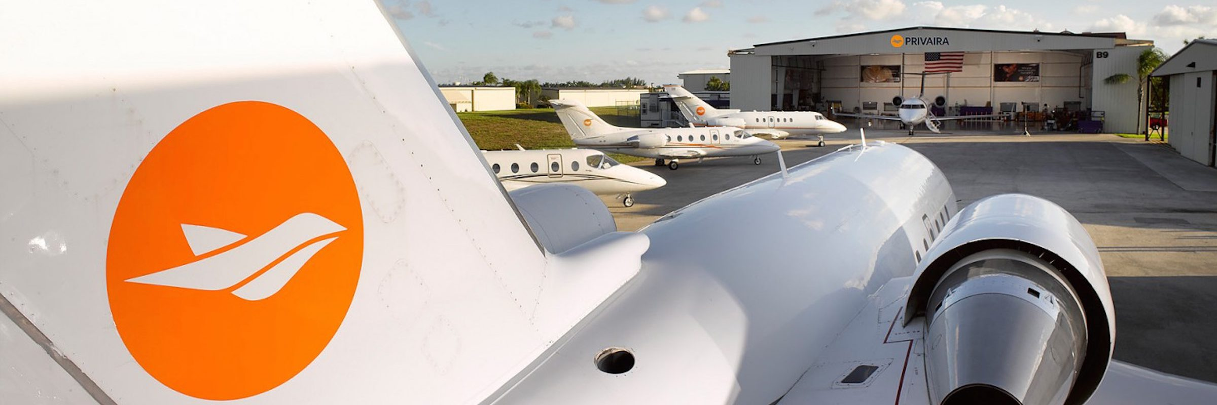 Boca Raton Airport Hangar Privaira