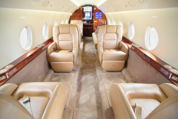 Privaira Gulfstream executive seats