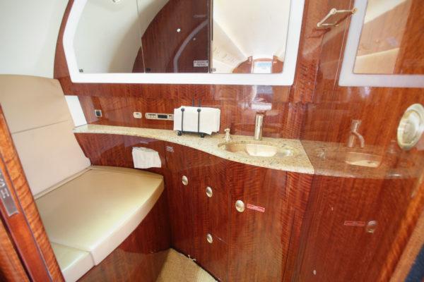 Privaira Gulfstream lavatory