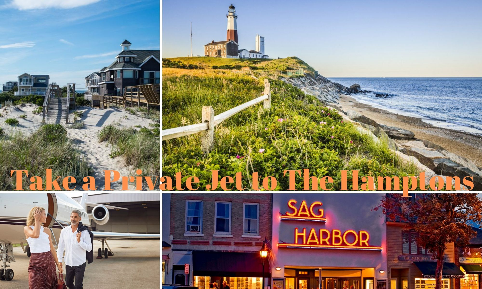The Hamptons by Private Jet | Privaira Private Aviation